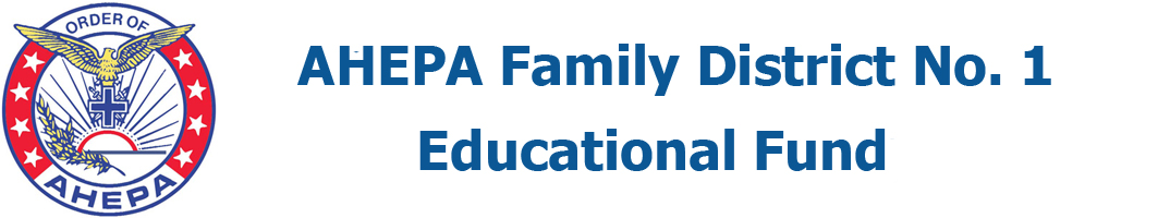 AHEPA Family District No. 1 Educational Fund
